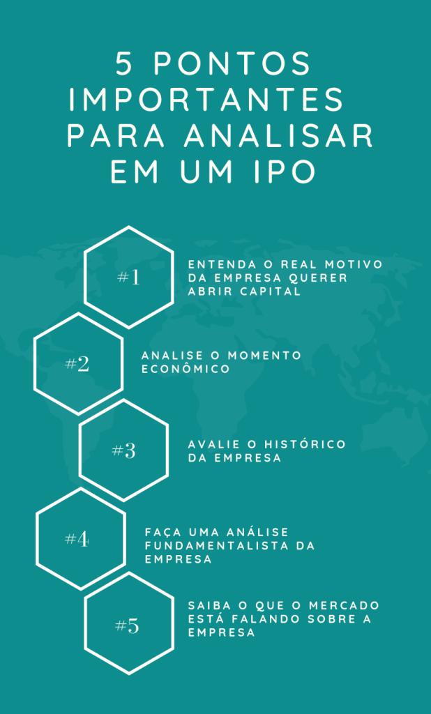 Pontos importantes para analisar em um IPO