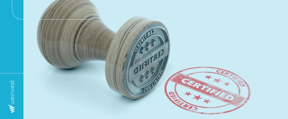 certificações do mercado financeiro
